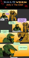 Arby n' the Chief #4 - Happy Halo-ween by seg0lene