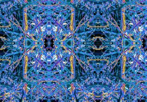 The Matrix Unfolded, Blue Brain Simulated Synapses by aegiandyad