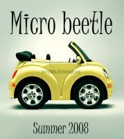 Micro Beetle by Osox