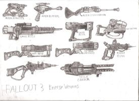 Fallout 3 Energy Weapons by Themastagamer9000