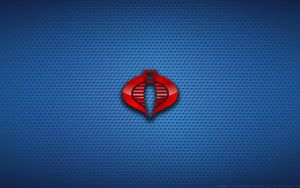 Wallpaper - Cobra Commander Logo by Kalangozilla