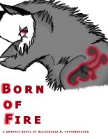 comic cover to born of fire by kitoridragoness