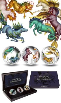 Horses of Lore and Legend Coins by T-Tiger