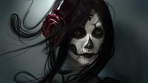BLACK_BACCARA_II by Wen-JR