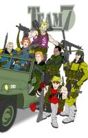 Alll New 52 Amalgam Now Team 7 by Needham-Comics
