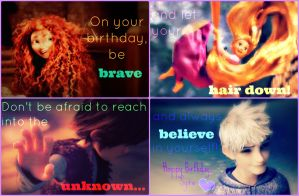Be Brave, Let Your Hair Down, Reach In and Believe by CeeJayFrost