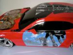 Painted Star Wars car by sarahwilkinson
