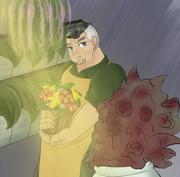 Flower Shop Au by Highway-King