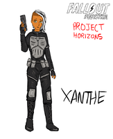 Xanthe humanized by glue123