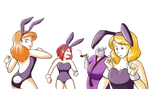 Easter Bunnies by FEuJenny07