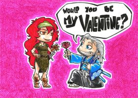 Valentine's Gift Card by ElectroCereal