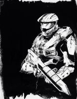 Master Chief by cucksillustration