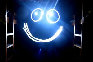 Smile in the Dark by thaddman
