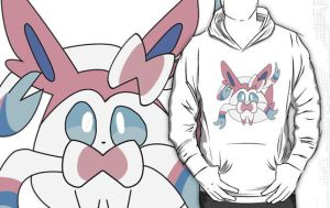 Sylveon Hoodie by spot1the2dog3