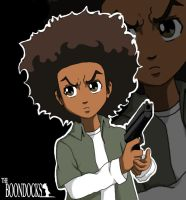 Huey Freeman by Digiko
