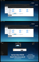 Deepin Theme For Win10 Anniversary Update by Cleodesktop