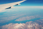 From the plane by AnanyaArts