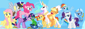 Plethora of Ponies by PixelKitties