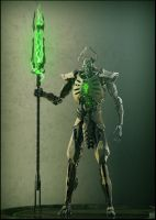 Necron lord #1 by Avitus12