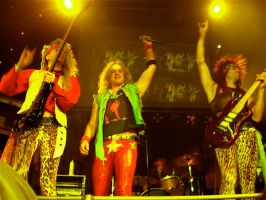 Steel Panther by ceruleanat