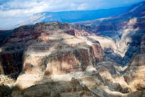 Cloudy Grand Canyon by eanimusic