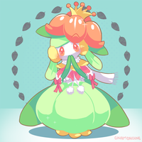 Day 10 - Lilligant by Cuney