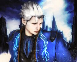 DMC4SE - Vergil by YaninaJohnson