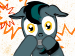 Scared BlackGryph0n Is Scared by PlushyPony