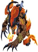 Ifrit No Pen by daylover1313