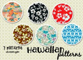 Hawaiian Patterns/Motivos by ValeHooligan