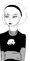 Moa lalonde draw by Sarasacop