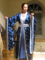 Blue Chinese Robe by Sphinxfeather