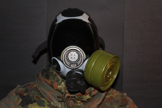 New gasmask by spartan4230