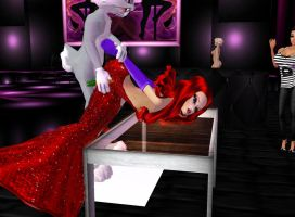 BugsBunny and Jessica Rabbit 03 by Mary-Margret