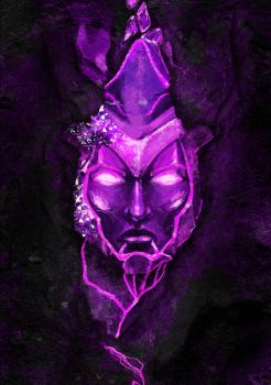 Eridium mask of The Sentinel by redelice
