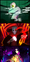 Gaster Gang by Bunnymuse