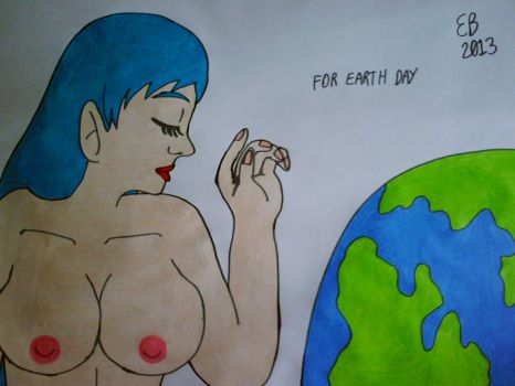 Being Natural For Earth Day by shnoogums5060