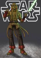 kit fisto - star wars by funeralwind