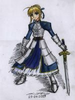 2007 saber color by krow000666
