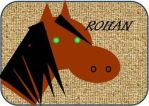 LotR Travel Labels-Rohan by firebutterfly-narya