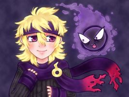 Morty and Gastly by roseannepage