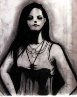 Amy Lee of Evanescence by theunknowns