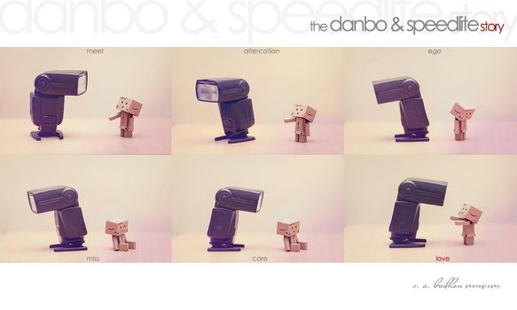 The Danbo and Speedlite Story by badhon