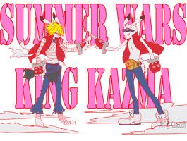 king kazma by kasuouhhitachiin