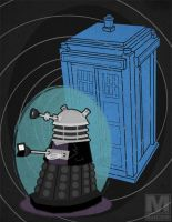 The Ninth Doctor Dalek by MeghanMurphy
