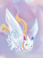Fairy Type Togekiss by Chardove