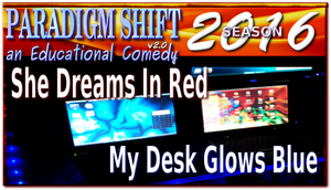 PSEC 2016 She Dreams In Red My Desk Glows Blue by paradigm-shifting