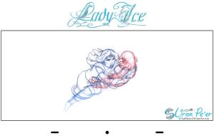 Lady Ice - Mom n Sen Rough3 by LPDisney
