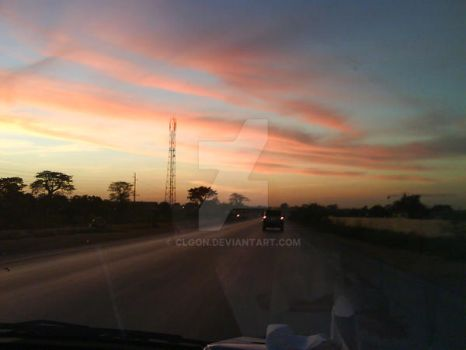 Angola Sunset 2 by clgon
