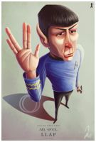 Mr. Spock by yandrk